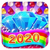 Diamonds Crush 2020 - jewel collect & blast