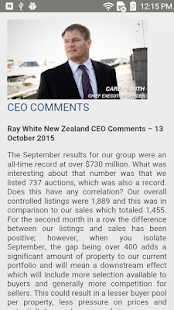 Ray White NZ News- screenshot thumbnail