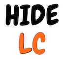 Hide LeetCode Difficulty