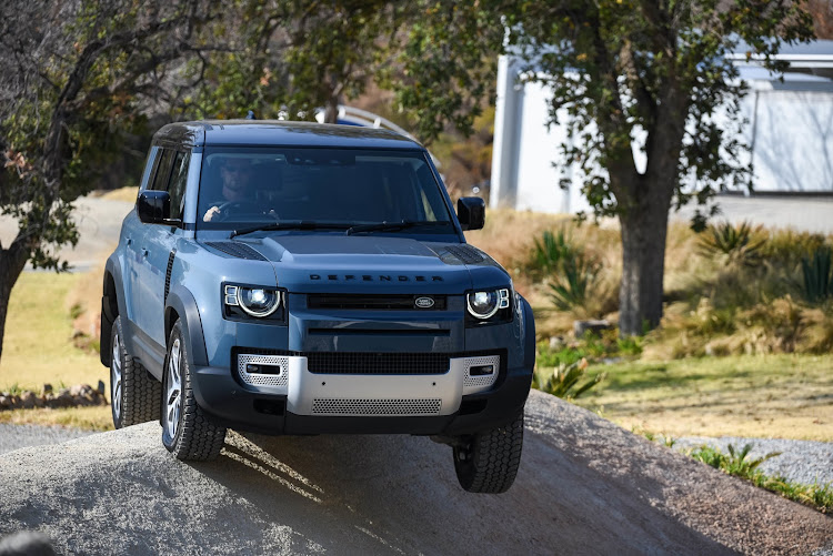 Land Rover has imbued the new Defender with robust terrain-tackling skills. Picture: SUPPLIED