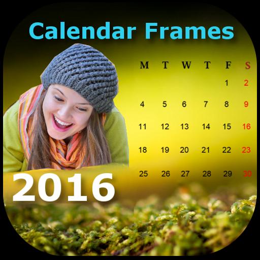 New Year Calendar Photo Frames