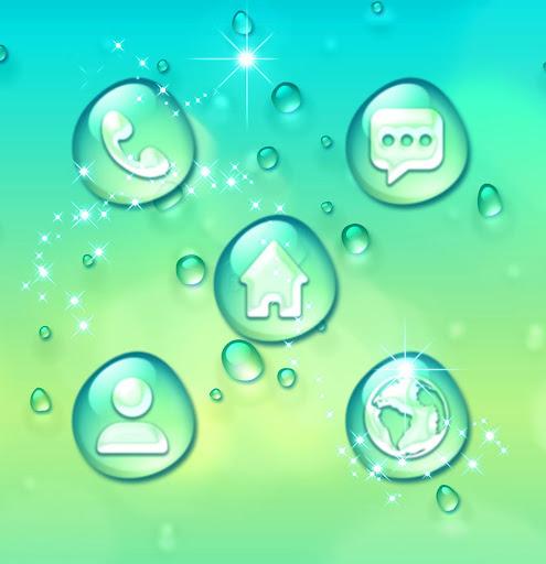 Water Drops Theme 1.296.1.213 screenshots 4