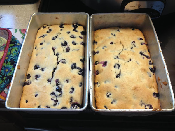 Very Berry Blueberry Tea Loaf Recipe