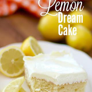 Lemon Dream Cake.