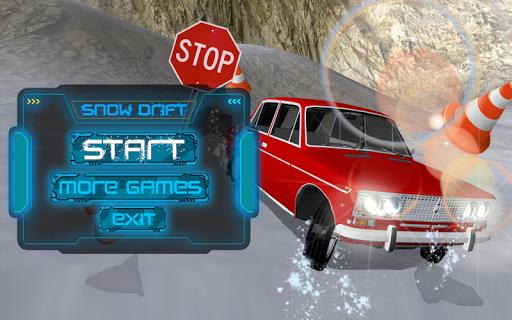 Russian Winter Drift VAZ 2106