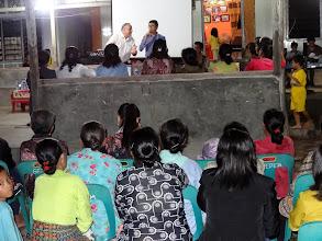 Photo: Preaching at Hari Ketiga village with brother Iwan as my interpreter.