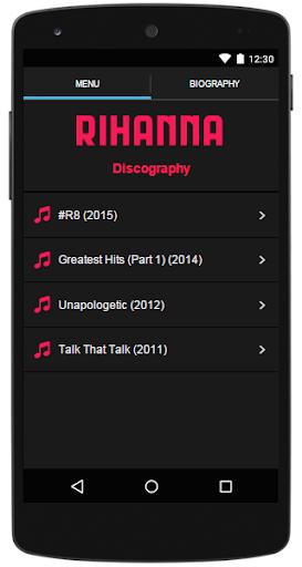 Rihanna Lyrics Complete