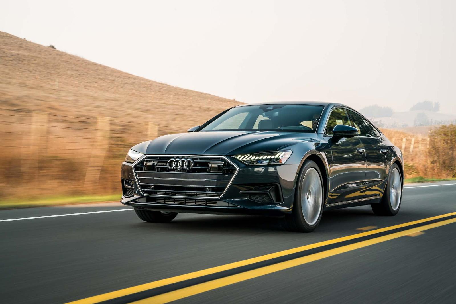 Как выглядит второе поколение Audi A7