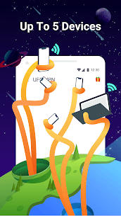 UFO VPN Basic: Free VPN Proxy & Secure WiFi Master Mod APK [Premium Cracked] 2