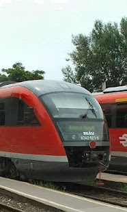 Trains Hungary New HD Themes - náhled