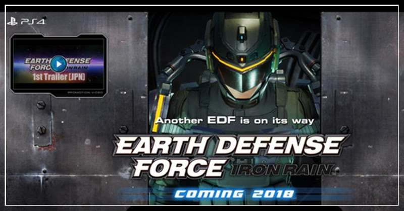 [EDF: Iron Rain] ภาคใหม่มาแบบซุปเปอร์โรบ็อท!