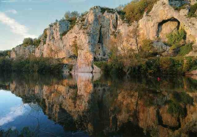 Chateaux des Anglais - Saint-Cirq-Lapopie (Сен-Сирк-Лапопи), Миди-Пиренеи, Франция