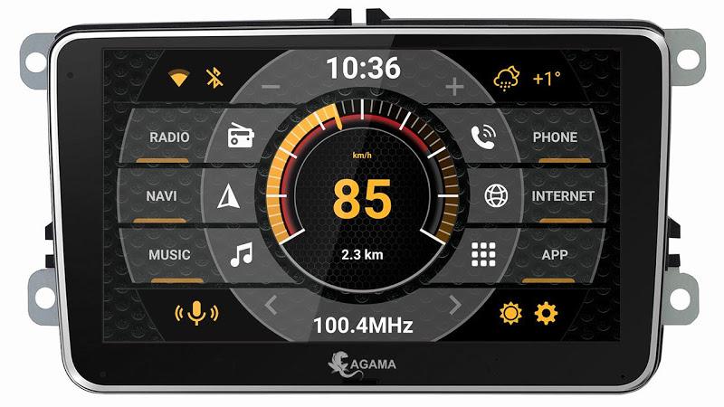 Car Launcher AGAMA Screenshot 9
