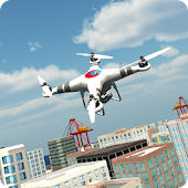 3D Drone Flight Simulator 2