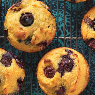 Gluten-Free Blueberry Muffins Made with Coconut Flour Recipe