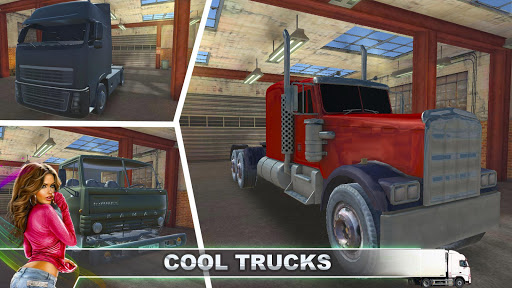 ハードトラック運転手の3D