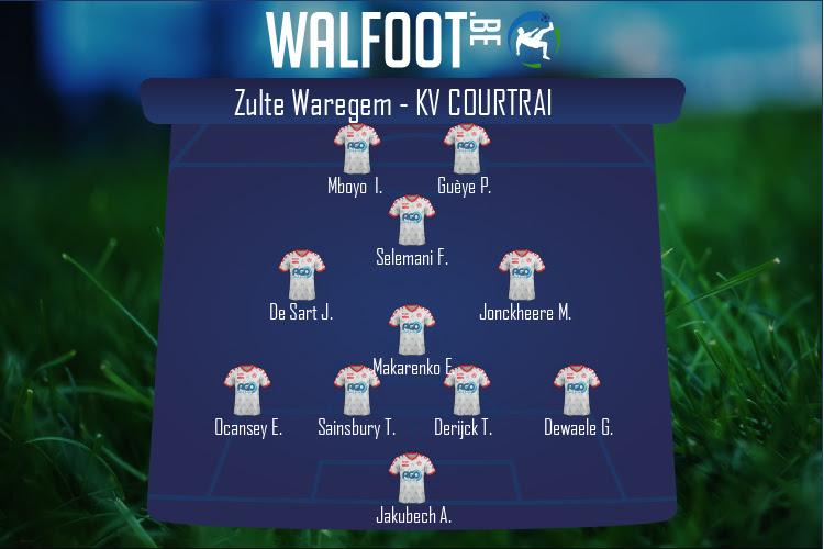 KV Courtrai (Zulte Waregem - KV Courtrai)