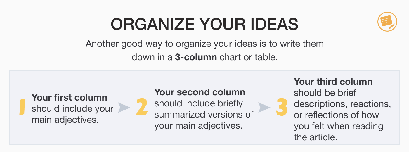 how-to-organize-ideas