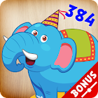 384 Puzzles for Preschool Kids - bonus games icon