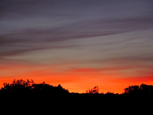 Saturday's sunrise