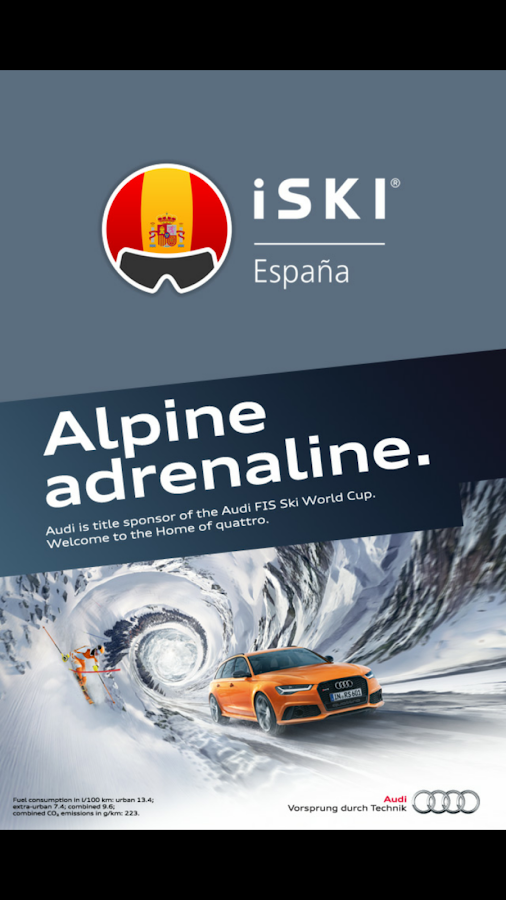 iSKI España- screenshot