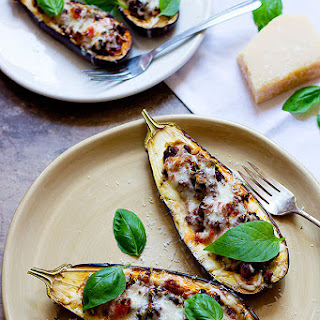 Eggplant Parmesan With Ground Beef Recipes
