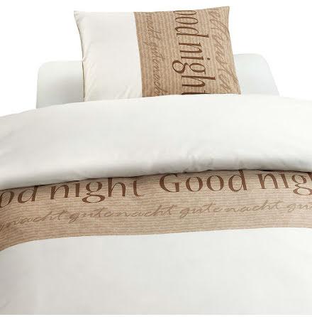 Bäddset - Påslakan Good Night