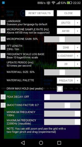 Speccy ud83dudcca Spectrum Analyzer  screenshots 3