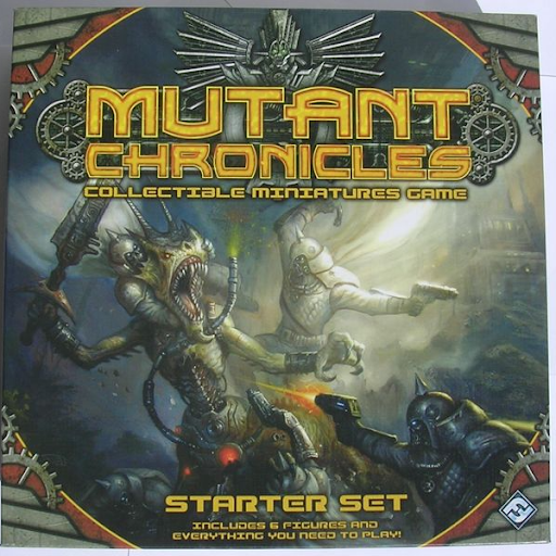Mutant Chronicles Collectible Miniatures Games