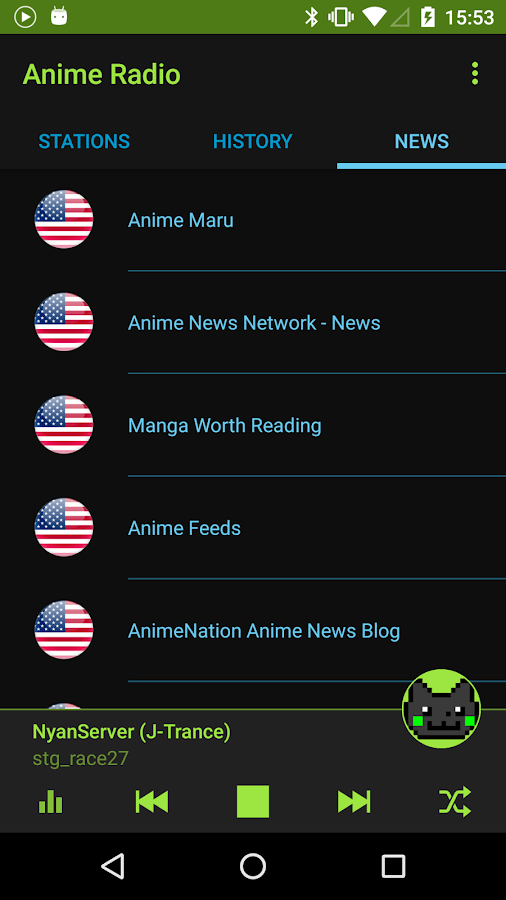Anime Music Radio- screenshot