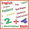 English Math Tutorial for CBSE icon