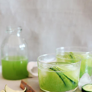 Low Cal Margarita With Cucumber Juice