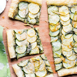 Zucchini Tart Puff Pastry Recipes.
