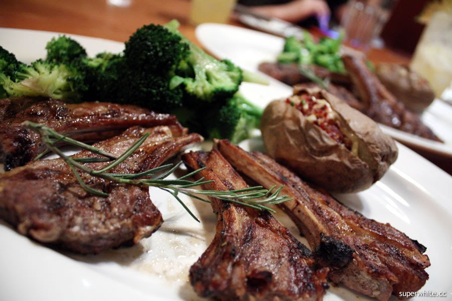 Tony Roma's Grilled Lamb Chops
