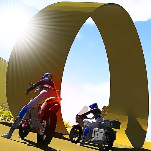 Bike Moto Stunt Racing 3D by Kaufcom Icon