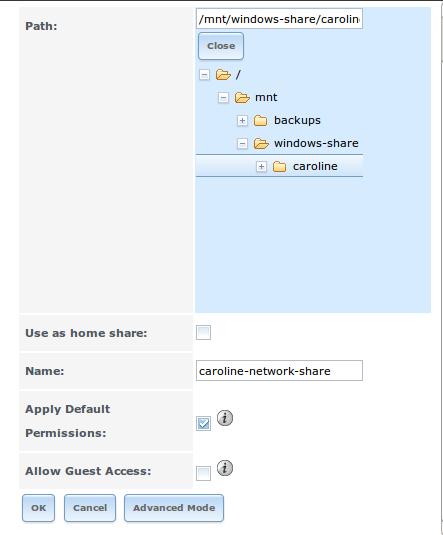 FreeNAS - Create A CIFS Share | Programster's Blog