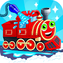 Train wash icon