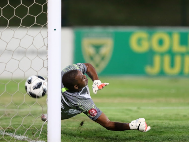 Kaizer Chiefs goalkeeper and captain Itumeleng Khune was beaten twice from the penalty spot during the 2-1 Absa Premiership away defeat against Lamontville Golden Arrows at Princess Magogo Stadium in KwaMashu on Saturday December 1 2018.
