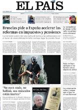 Photo: Bruselas pide a España acelerar las reformas en impuestos y pensiones, los empresarios callan o niegan ante el juez en el 'caso Bárcenas' y dos periodistas de Le Monde relatan su vivencia en un ataque químico en Siria, en nuestra portada del martes 28 de mayo http://srv00.epimg.net/pdf/elpais/1aPagina/2013/05/ep-20130528.pdf