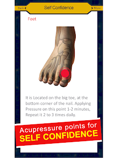 Acupressure Body Points [YOGA] 8