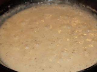 Chicken Cream Gravy Recipe