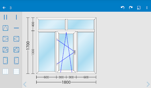 Pvc window door design iwindor android apps on google play for Fenetre pvc dwg