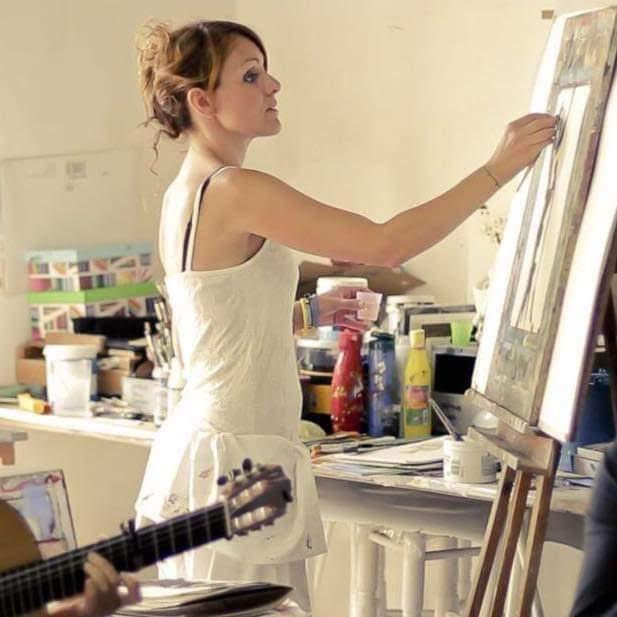 Pesar por el fallecimiento de la pintora algecireña Blanca Orozco