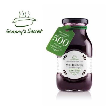 Granny's Secret Wild Blueberry Juice 200ml