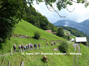 Wanderung Chapfensee - Wildenberg