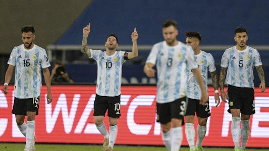 SEDANG BERLANGSUNG Live Streaming Argentina vs Uruguay Copa America 2021, Tonton di Indosiar - Tribunnews.com