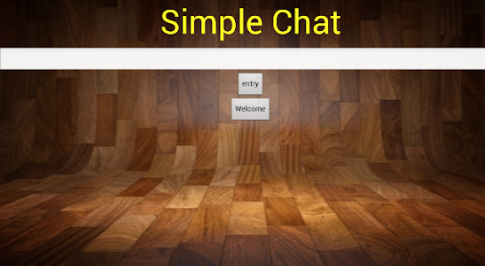 Simple Chat screenshot 0