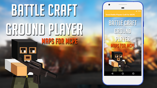Grand Battle Players Craft Maps for MCPE - náhled