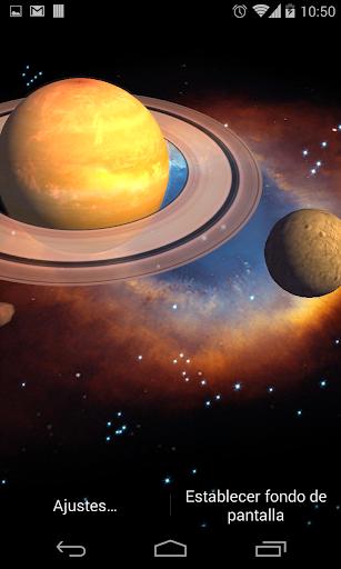 3D Galaxy Live Wallpaper HD screenshots 2