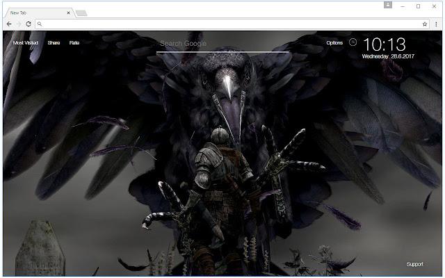 Dark Souls Wallpaper HD New Tab